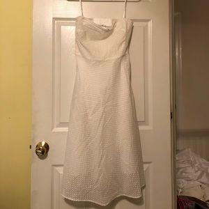 JCrew white dress